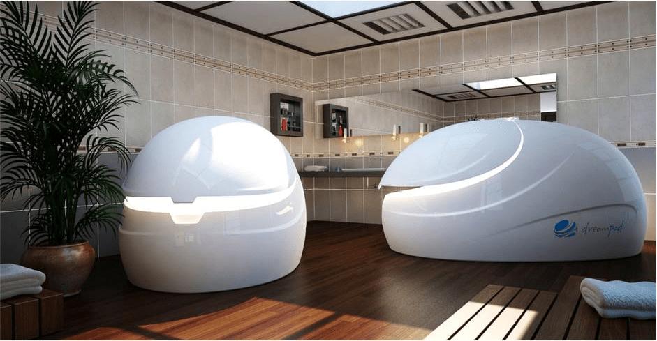 Float Pod rooms
